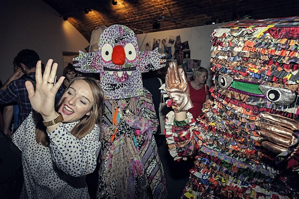 Bas Kosters at London Fashionweek